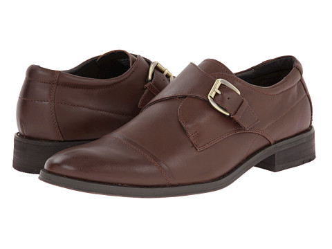 VIONIC with Orthaheel Technology - Ethan (Coffee) Men's Shoes