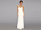 Adrianna Papell Necklace Long Gown (Ivory)
