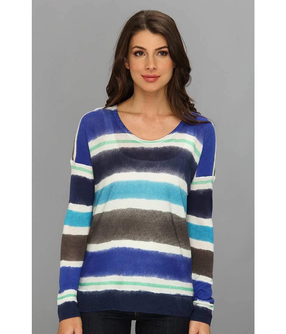 C&C California - Printed Sweater (Mirage) Women's Sweater