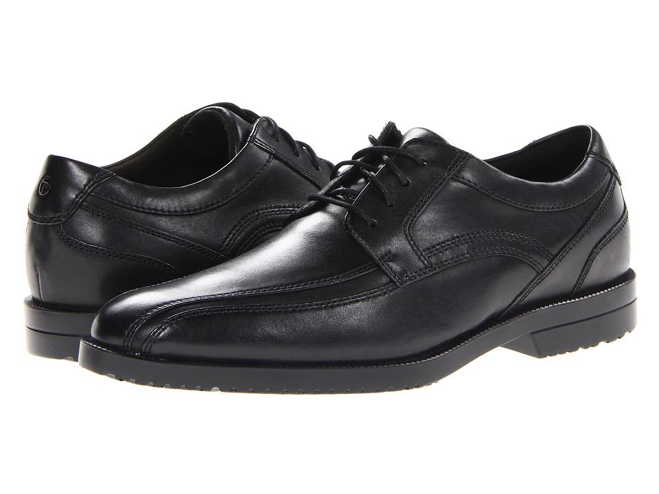 Rockport - Dandris Bike Toe Oxford (Black) Men's Shoes