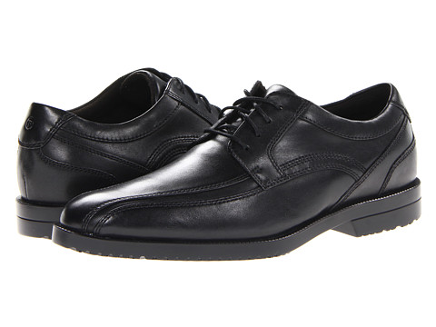 Rockport - Dandris Bike Toe Oxford (Black) Men's Shoes