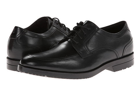 Rockport - Davinton Moc Toe Oxford (Black) Men