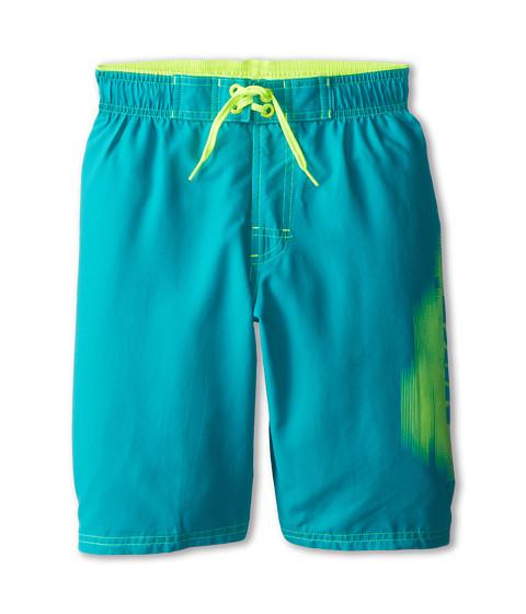 Nike Kids - Core Logo Volley Short (Big Kids) (Turbo Green) Boy's Swimwear