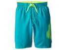 Nike Kids Core Logo Volley Short (Big Kids) (Turbo Green)