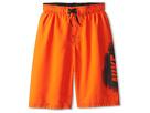 Nike Kids Core Logo Volley Short (Big Kids) (Safety Orange)