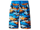 Nike Kids Astro Camo Volley Short (Big Kids) (Photo Blue)