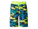 Nike Kids Astro Camo Volley Short (Big Kids) (Volt)