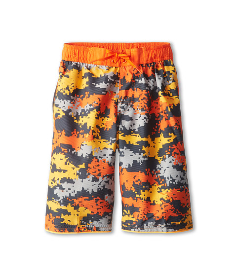 Nike Kids - Astro Camo Volley Short (Big Kids) (Safety Orange) Boy