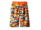 Nike Kids Astro Camo Volley Short (Big Kids) (Safety Orange)