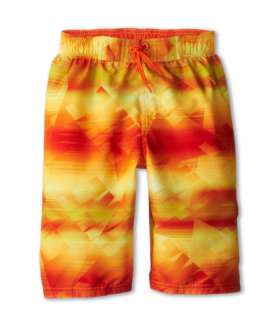 Nike Kids - Hyper Color Volley Short (Big Kids) (Safety Orange) Boy's Swimwear