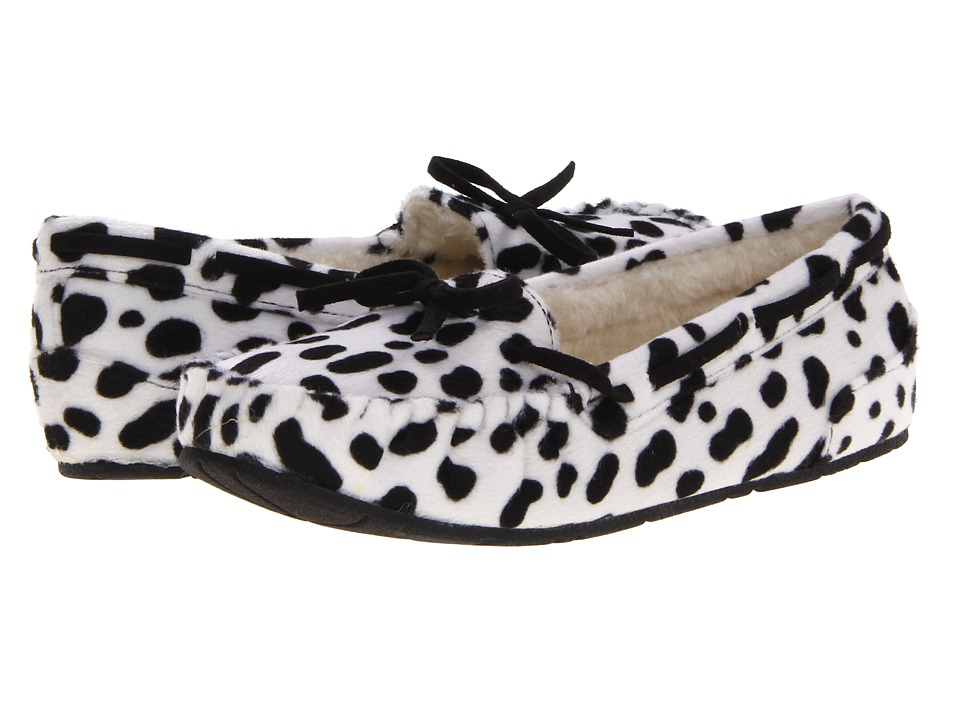 UNIONBAY Yum Moccasin (Black Dalmation) Women