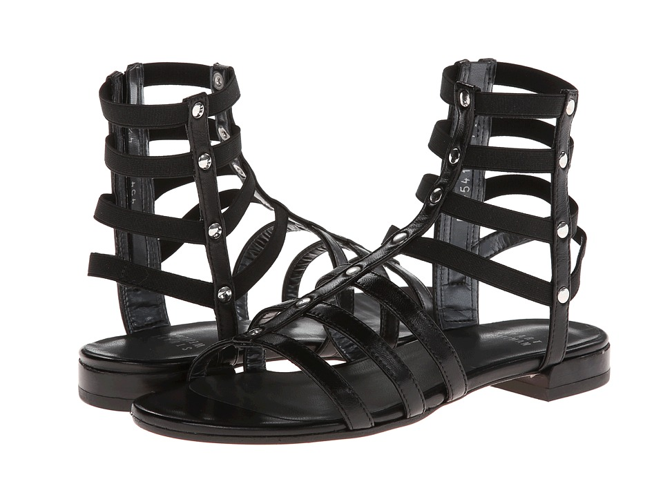 Stuart Weitzman - Caesar (Black Nappa Leather) Women's Sandals
