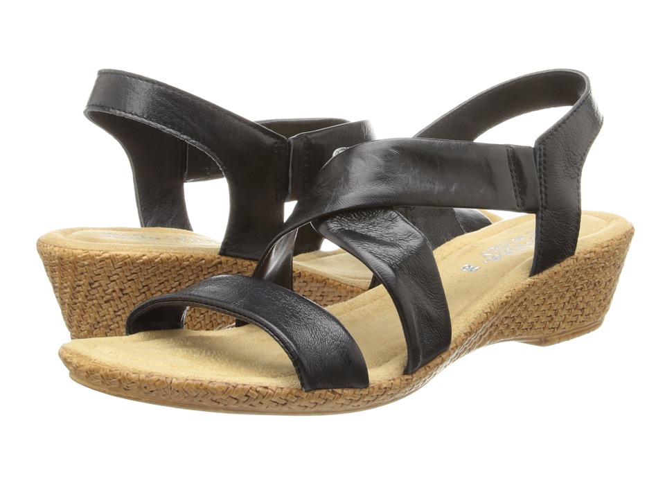Bella-Vita - Ciao (Black Leather) Women's Sandals