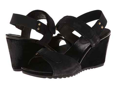 Geox - D Alias (Black) Women's Wedge Shoes