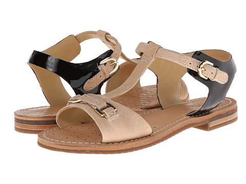 Geox - D Jolanda (Milk/Black) Women's Sandals