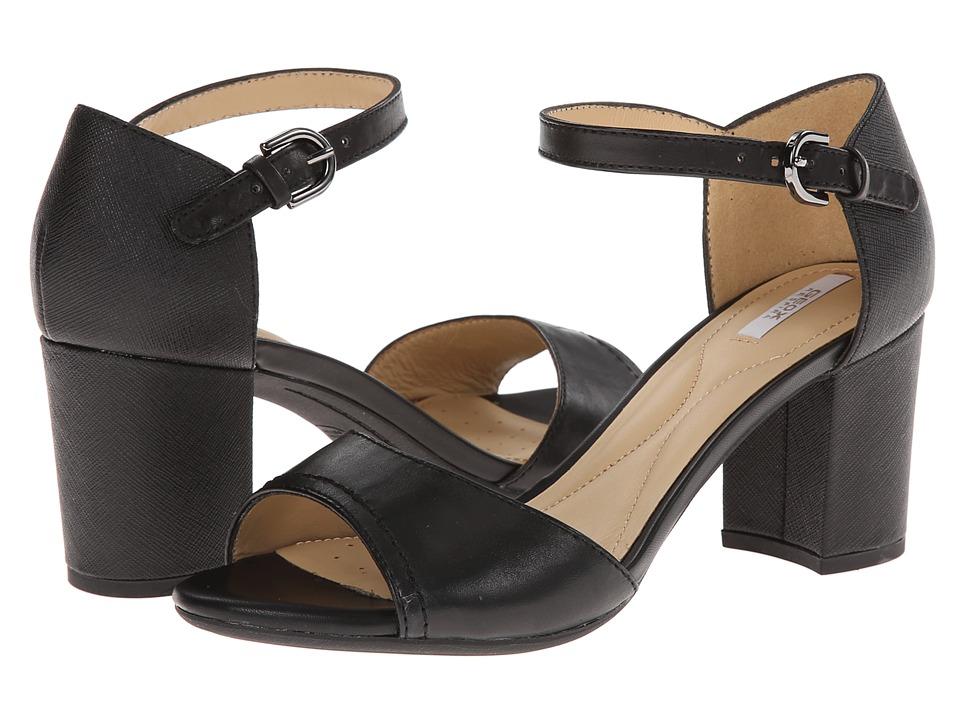 Geox - D Nesa (Black) High Heels