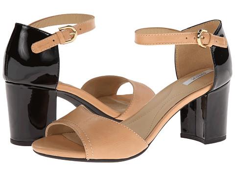 Geox - D Nesa (Caramel/Black) High Heels