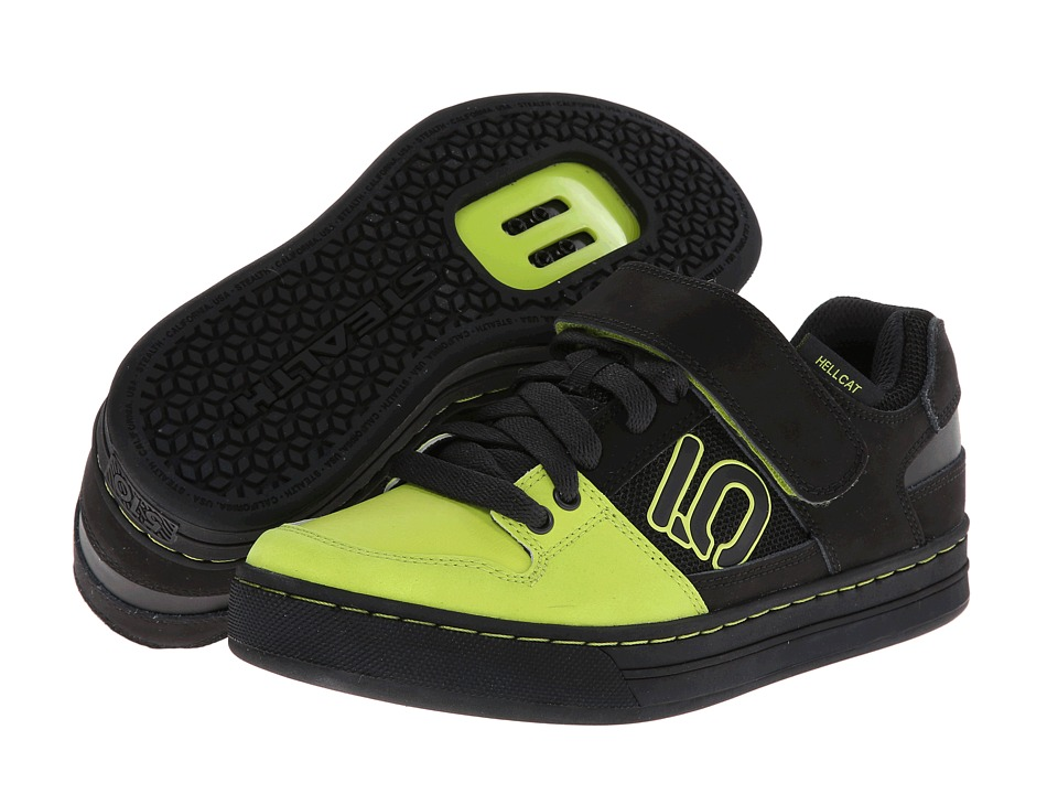 Five Ten - Hellcat (Black/Lime Punch) Men's Shoes