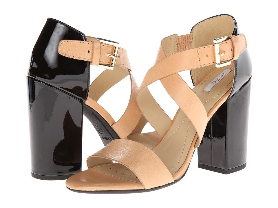 Geox - D Nolina (Caramel/Black) High Heels
