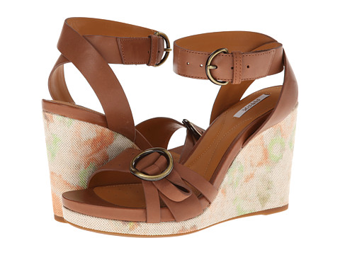 Geox - D Victory (Toffee) Women's Wedge Shoes