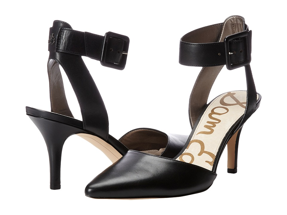 Sam Edelman - Okala (Black Leather) High Heels