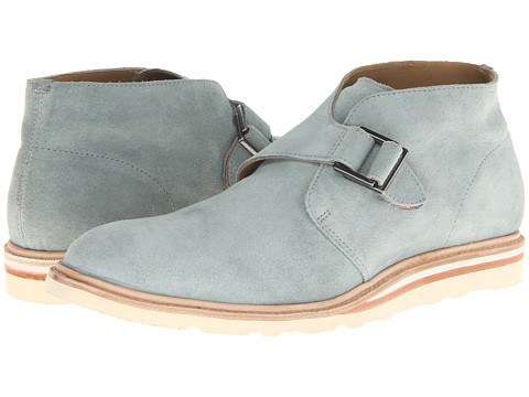 Cole Haan - Christy Wedge Monk Chukka (Grey/Brown/White) Men's Boots