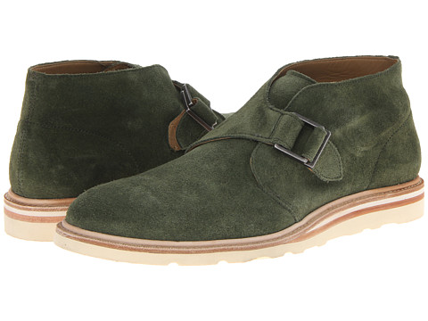 Cole Haan - Christy Wedge Monk Chukka (Olive Green Suede) Men's Boots
