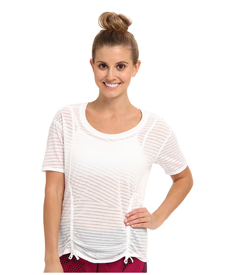 Lucy - Worth The Weights S/S (Lucy White) Women's Short Sleeve Pullover