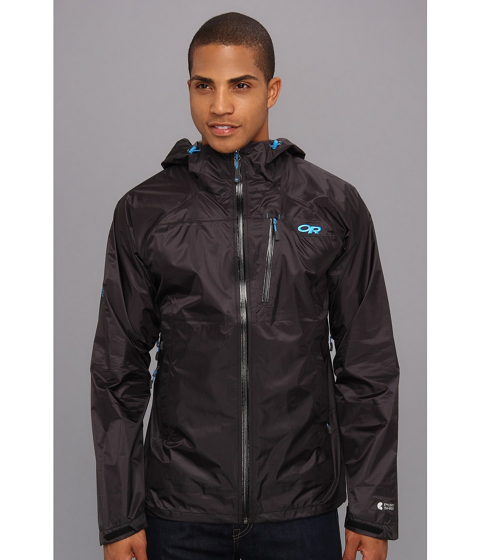 Outdoor Research - Helium HD Jacket (Black/Hydro) Men