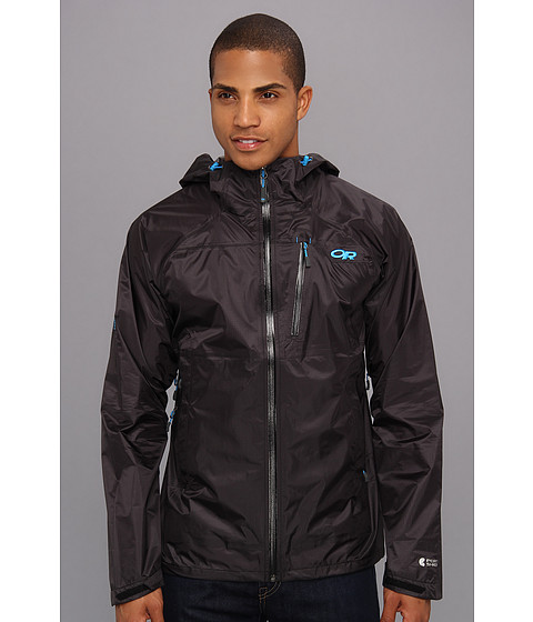 Outdoor Research - Helium HD Jacket (Black/Hydro) Men's Coat