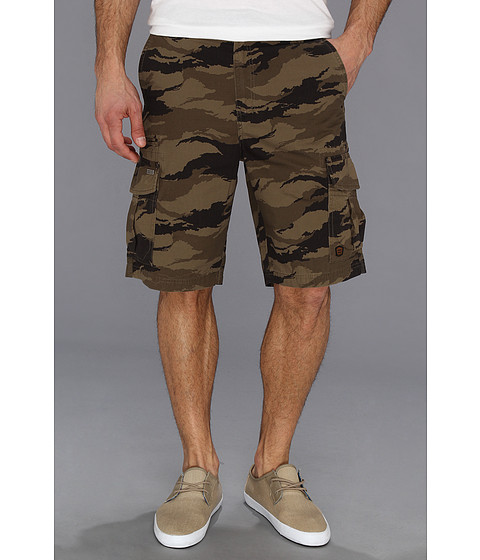 2d3c012c62 ... UPC 828570929909 product image for Billabong Scheme Cargo Walkshort  (Military Camo) Men's Shorts ...