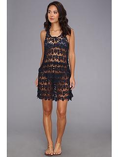 SALE! $36.99 - Save $83 on Seafolly Beach Crush Bandit Dress Cover Up (Indigo) Apparel - 69.17% OFF $120.00