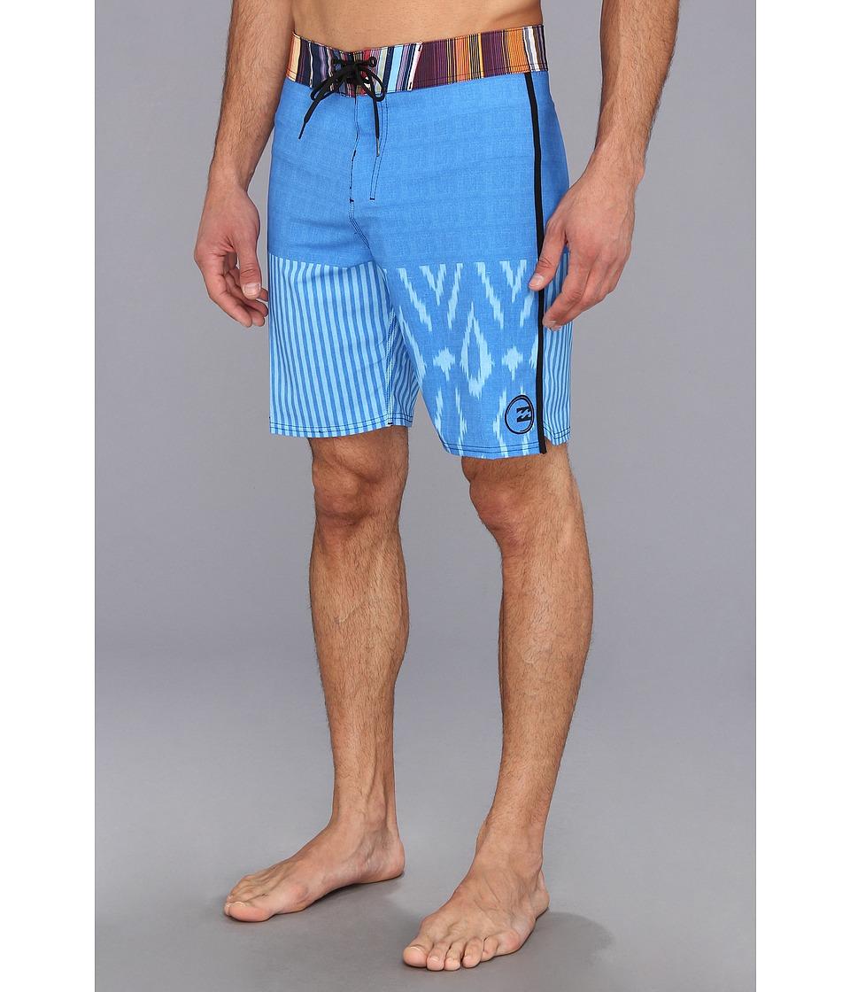 Billabong - Transplant Boardshort (Light Blue) Men's Swimwear