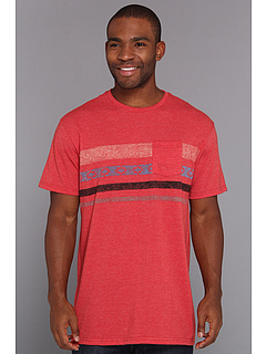 SALE! $14.99 - Save $12 on Billabong Four Way Tee (Red Heather) Apparel - 43.43% OFF $26.50