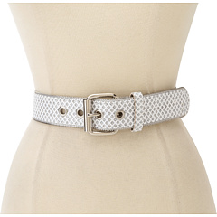 SALE! $17.99 - Save $4 on Relic Glitter Zipper Edge Belt (White) Apparel - 18.23% OFF $22.00