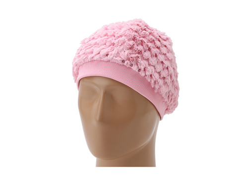 Betsey Johnson - Out of Sequins Beret (Infant/Toddler/Little Kid) (Pink) Caps