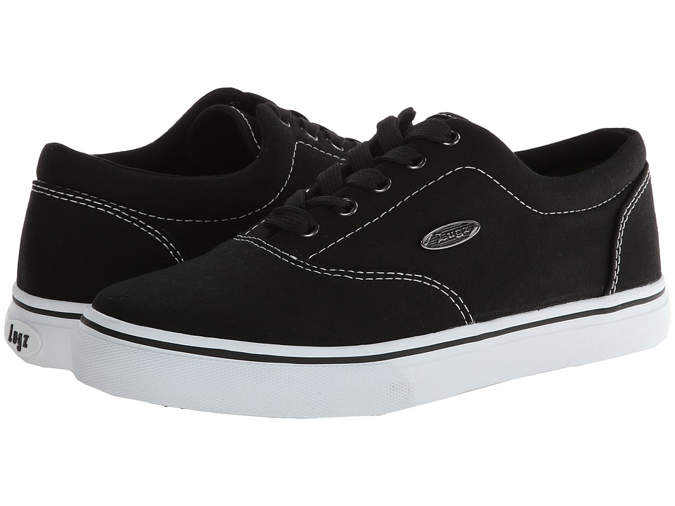 Lugz Vet (Black/White Canvas) Men