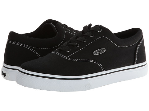 Lugz - Vet (Black/White Canvas) Men