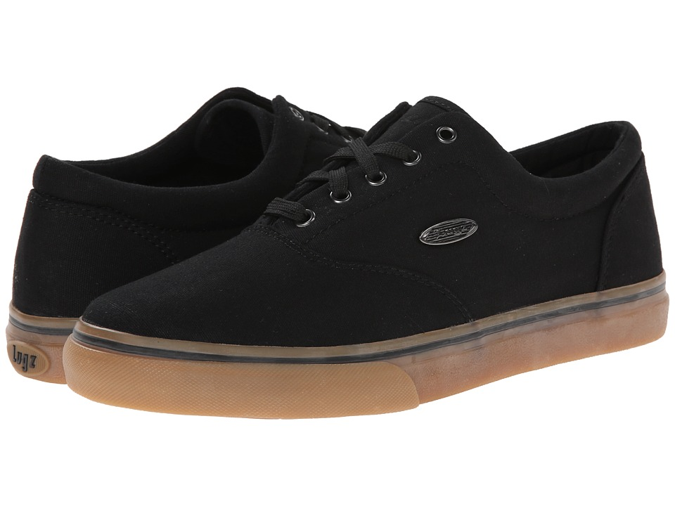 Lugz - Vet (Black/Gum Canvas) Men's Lace up casual Shoes
