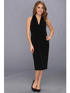 SALE! $42.99 - Save $76 on Anne Klein Jersey Dress (Black) Apparel - 63.87% OFF $119.00