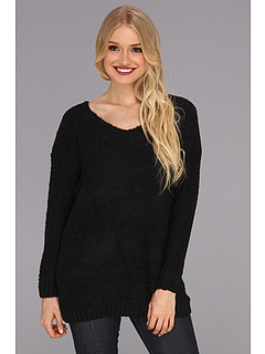 SALE! $16.99 - Save $52 on rsvp Emer Soft V Neck Sweater (Black) Apparel - 75.38% OFF $69.00