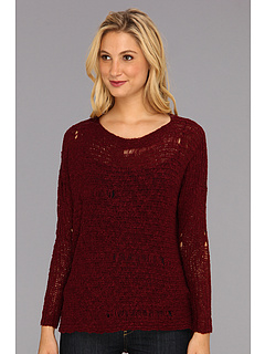 SALE! $16.99 - Save $52 on rsvp Edlyn Hi Low Sweater (Wine) Apparel - 75.38% OFF $69.00