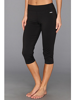 SALE! $29.99 - Save $20 on Fila Tight Capri (Black) Apparel - 40.02% OFF $50.00