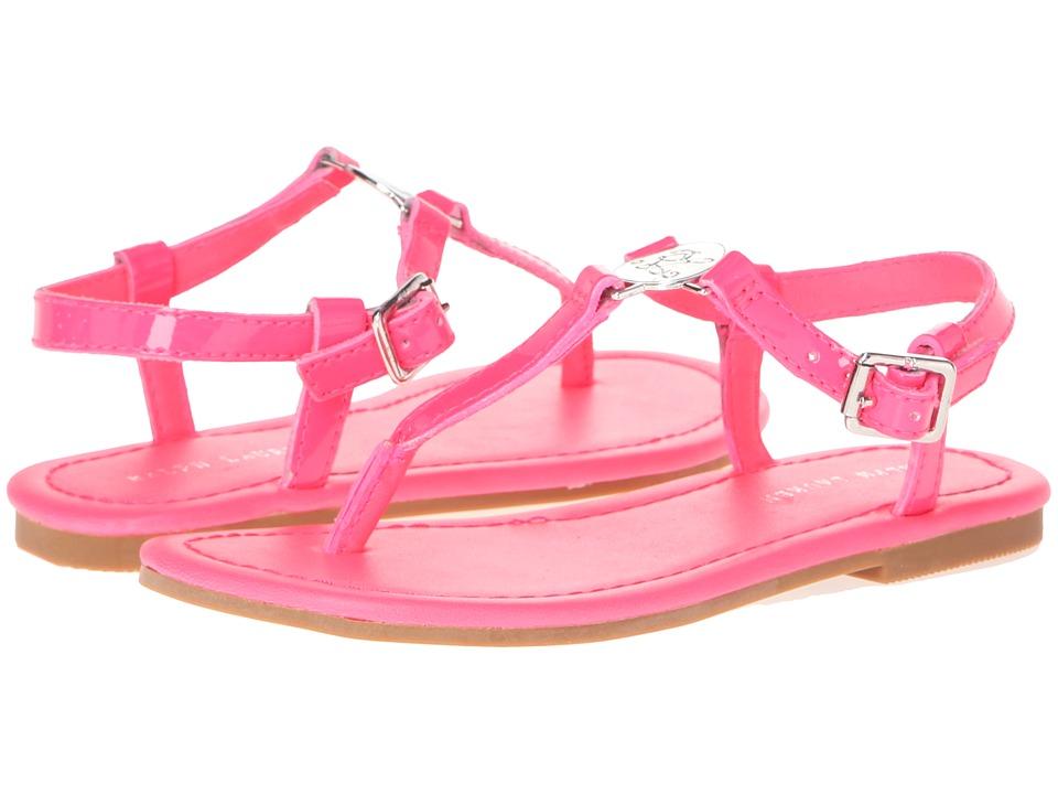 Polo Ralph Lauren Kids - Sueanne (Little Kid/Big Kid) (Neon Pink Patent) Girls Shoes