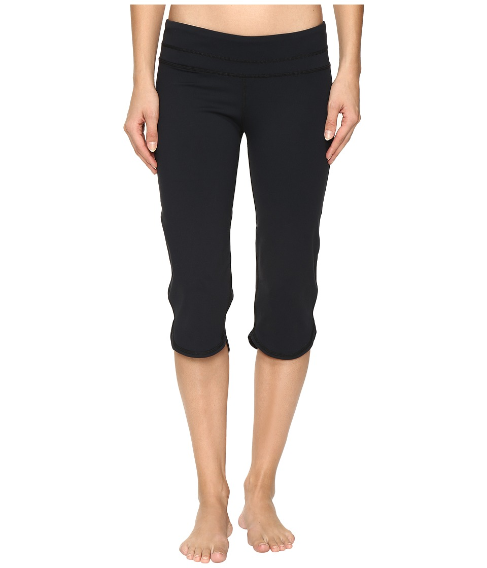 Carve Designs - Quest Capri Legging (Black) Women's Capri