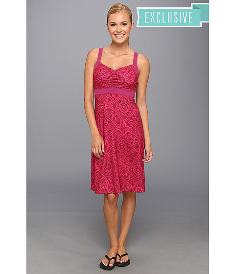 Prana - Amaya Dress (Fuchsia Mayan) Women's Dress