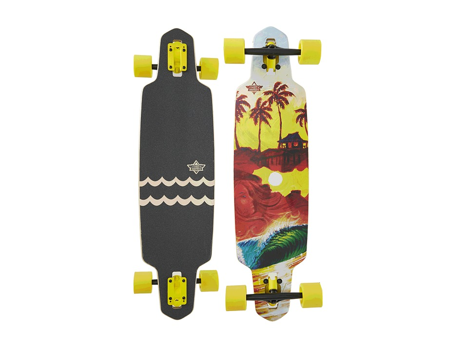 Dusters - Shacked Longboard (Multi) Skateboards Sports Equipment