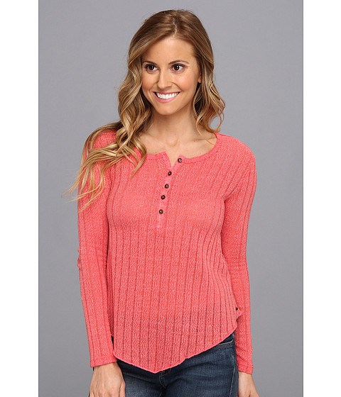 O'Neill - Ruby Knit Top (Coral) Women's Sweater