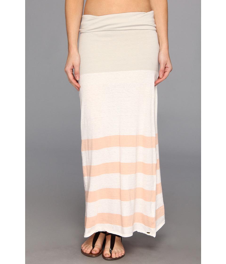 O'Neill - Trina Stripe Skirt (Grey Dawn) Women's Skirt