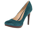 Cole Haan - Chelsea High Pump (Dark Teal Suede) - Cole Haan Shoes